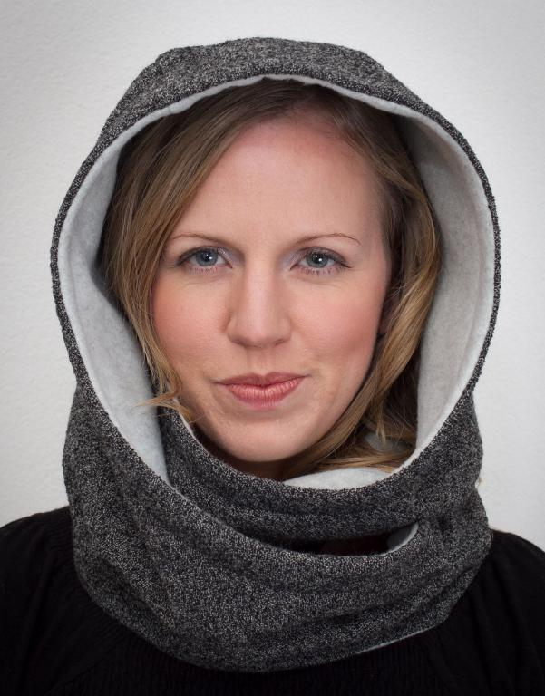 Hooded Scarf Pattern