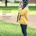 Toddler Ear Flap Hat Pattern and Tutorial