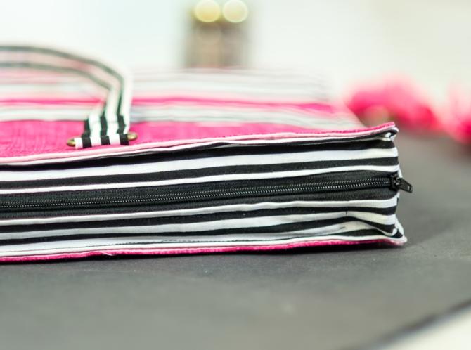How to sew a Laptop Bag on sewsomestuff.com 2