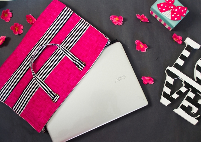 How to sew a Laptop Bag