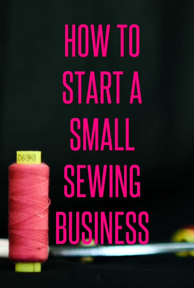 How to start a small sewing business sew some stuff for Craft businesses that make money