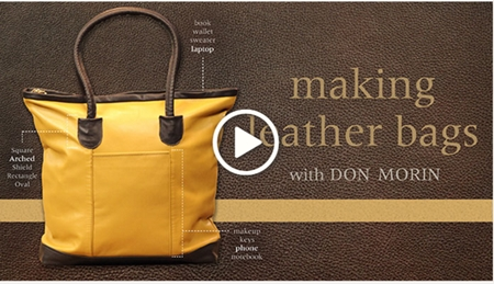 making leather bags