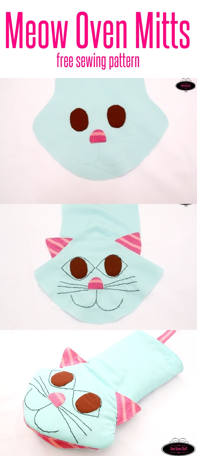 Meow oven mitts free sewing pattern sew some stuff meow oven mitts free sewing pattern on sewsomestuff 1 jeuxipadfo Gallery