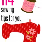 114 Sewing Tips