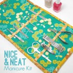 Manicure Kit Sewing Tutorial