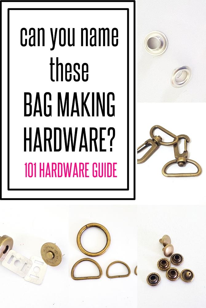 BAG making hardware dictionary on sewsomestuff.com2