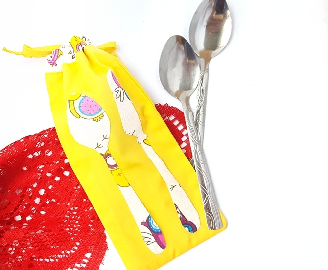 Picnic Utensil Pouch