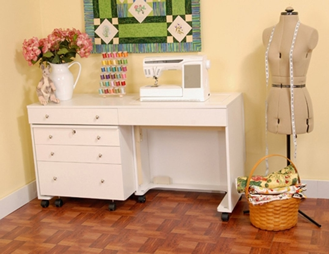 8 WONDERFUL Sewing Room Ideas for Small Spaces - Sew Some Stuff