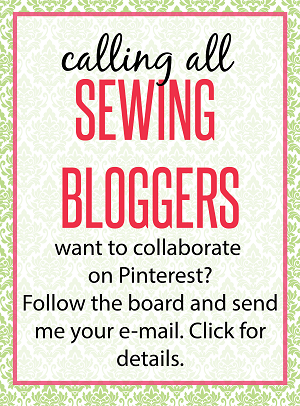 Pinterest sewing group board invite