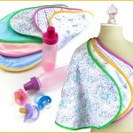 Baby Burp Cloths Sewing Tutorial