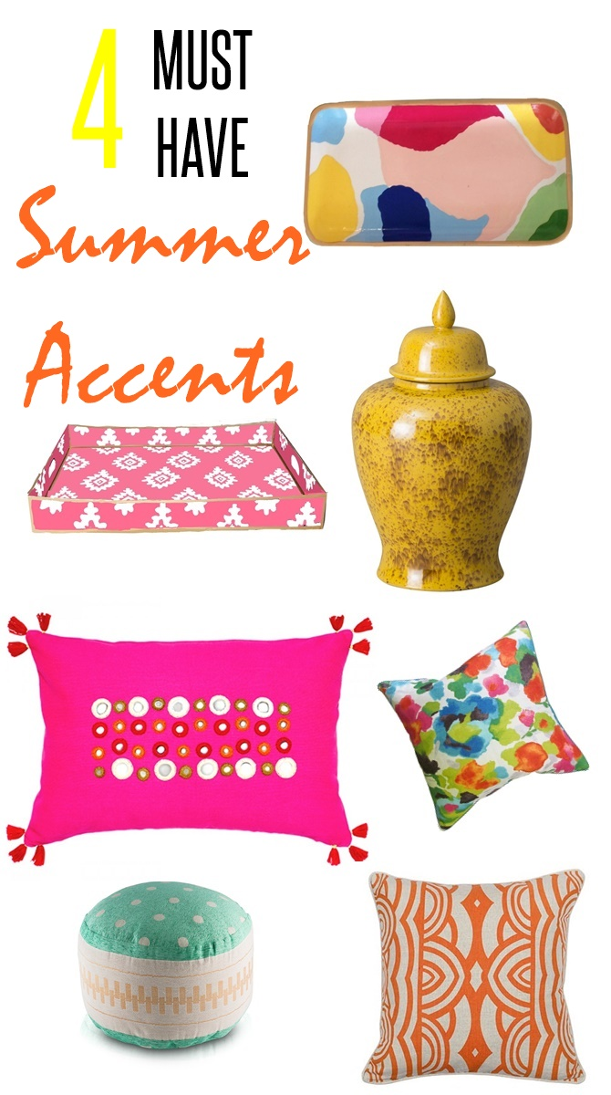 4 ways to add summer to your home decor