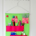 School Supplies Organizer Tutorial