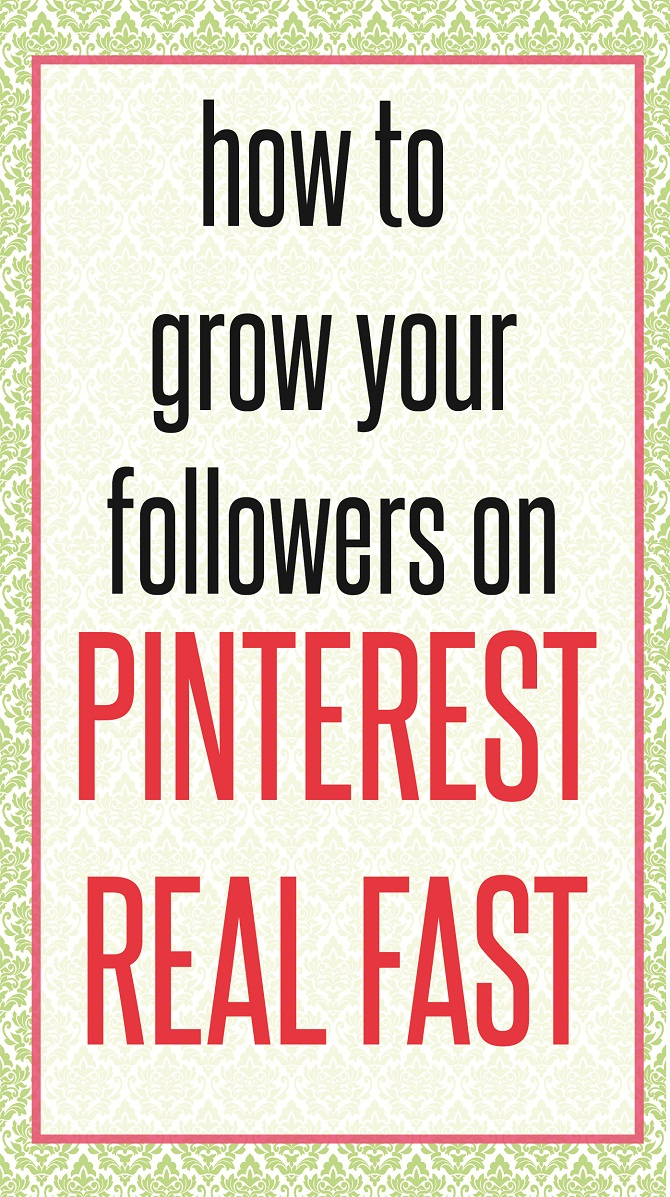 How to Get Lots of Pinterest Followers - FAST. Struggling to grow your Pinterst followers? Tired of putting all your effort without any changes? Or are you a new blogger looking to grow real quick? CHECK out this post where I share my tools and strategies that I used to DOUBLE my followers in 2.5 months. READ NOW!