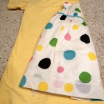 Ruffle Dress from Tee Tutorial