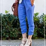 Track Pants Sewing Tutorial