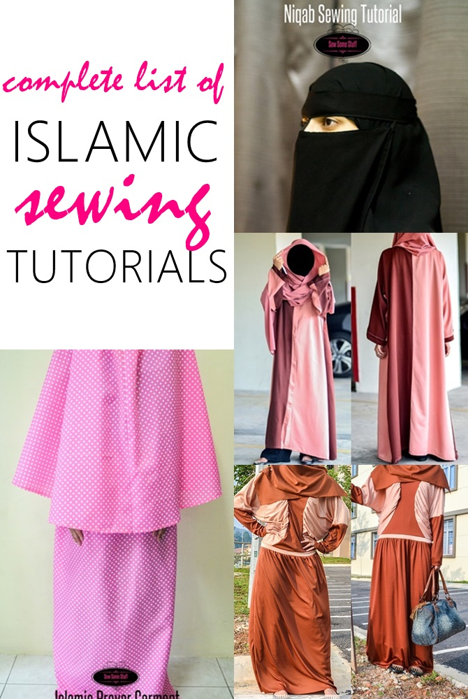Islamic Sewing Patterns - Sew Some Stuff