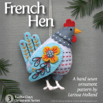 French Hen Sewing Pattern