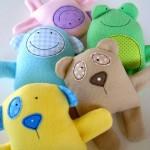 Baby Animal Softies Sewing Pattern