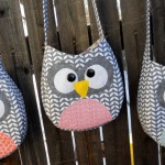 Little Girl Owl Crossbody Purse Pattern