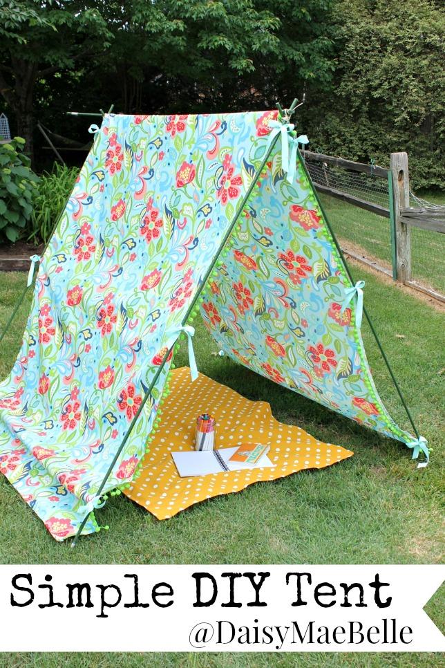 Simple DIY Tent