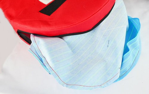 How to sew an angry birds bag on sewsomestuff.com19
