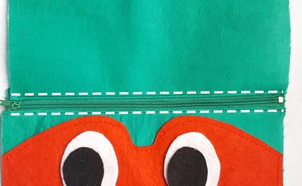 Ninja turtle pouch tutorial with free pattern by sewsomestuff.com12