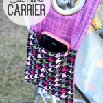 Stroller Phone Cover Tutorial