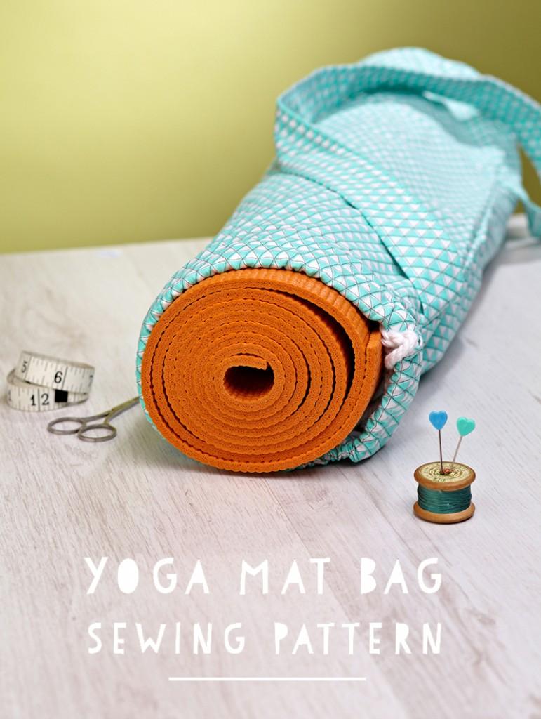 Yoga Mat Bag Free Sewing Tutorial Sew Some Stuff