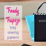 Introducing Trendy Trapeze Bag Sewing Pattern
