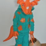 FREE Triceratops Costume Sewing Pattern