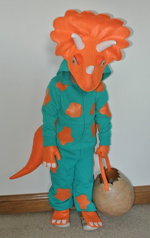 FREE Triceratops Costume Pattern
