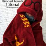 Harry Potter Hooded Towel Tutorial