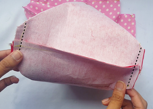 Ombre ruffle pouch sewing tutorial63
