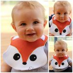 Fox Baby Bib Sewing Pattern