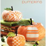 Fabric Pumpkin Sewing Pattern