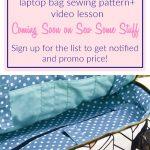 Lady Boss Laptop Bag Sewing Pattern