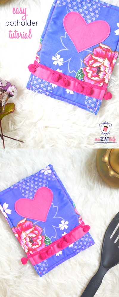 Easy potholder tutorial | hotpad tutorial |