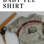 Sew a Baby Tee from an Adult Tee