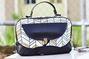 Lady Boss laptop bag sewing pattern