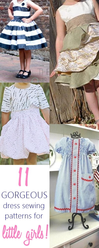 Gorgeous & Easy Dress Patterns for Girls That They Will