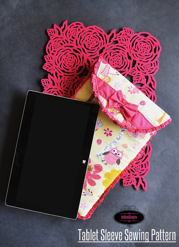 Tablet and Ipad Case Sewing Pattern - Sew Some Stuff