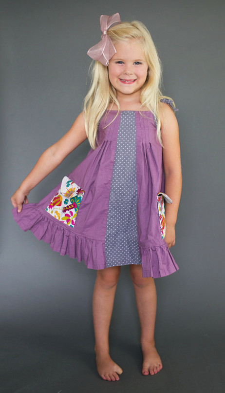 Persimmon Dress and Top