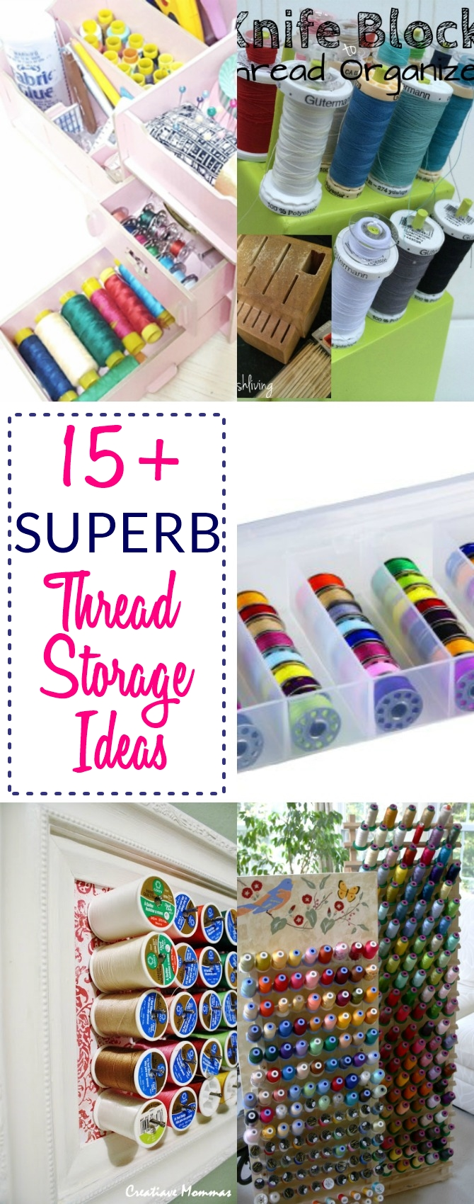 Great Thread Storage | Thread Organizer | Thread Storage Box | Thread Storage  Ideas |