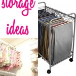19+ AMAZING Fabric Storage Ideas for Sewing Rooms