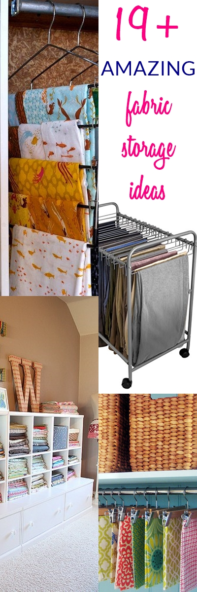 Fabric Storage Ideas for Sewing Rooms   fabric organization ideas   storage for sewing room   fabric storage   sewing room fabric storage ideas