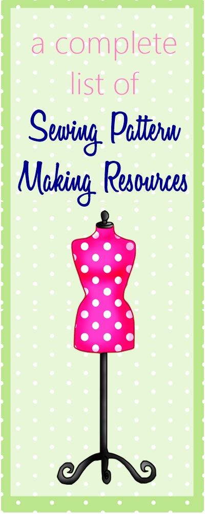 Sewing Pattern Making Classes & Books for Beginners | neckline pattern drafting | draft skirt, bodice and pants sloper | fashion designing