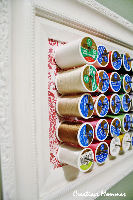 15 Superb And Affordable Sewing Thread Storage Ideas