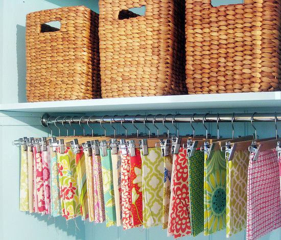 11 Wonderful Fabric Storage Ideas For Sewing Rooms Page