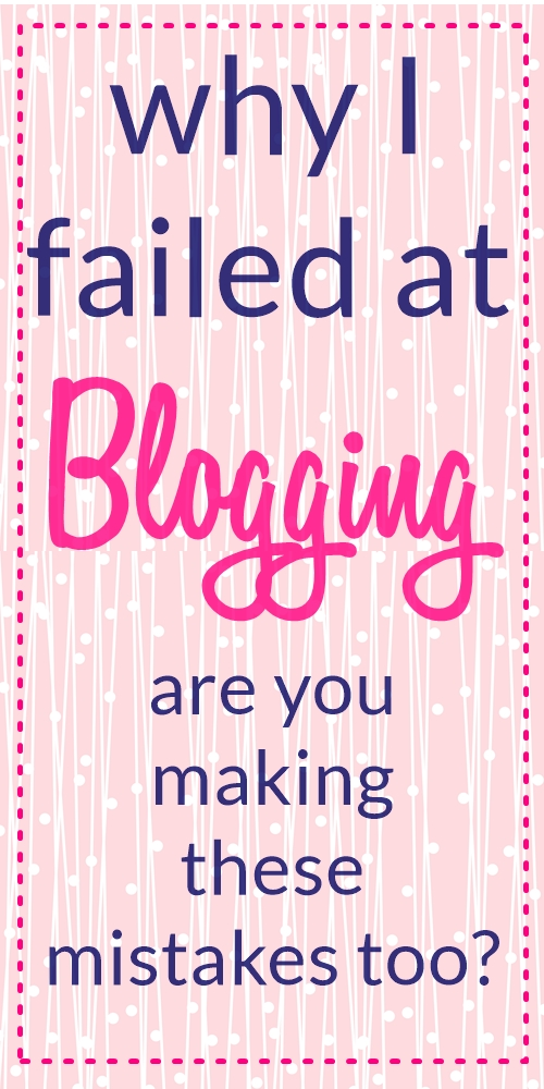 how to start a profitable blog | blogging mistakes to avoid | mom blog | earn full time blogging income