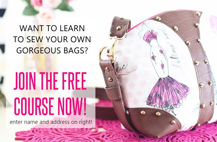 bag sewing patterns, free handbag patterns